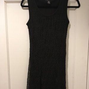 Black cocktail dress with elegant jacket